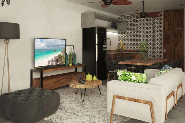 Foto de departamento en venta en gavilanes y sun yax chen , tulum centro, tulum, quintana roo, 7280300 No. 05