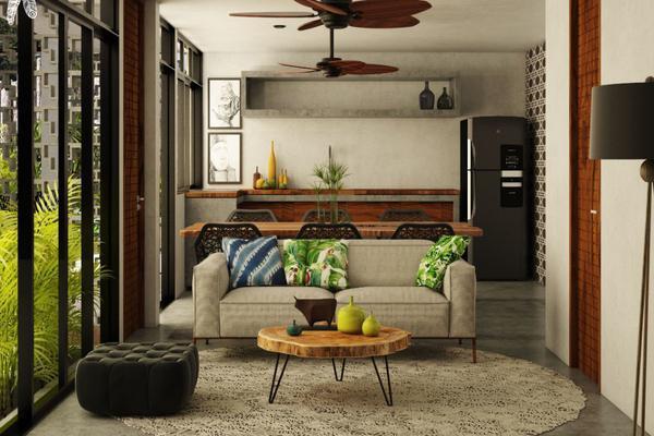 Foto de departamento en venta en gavilanes y sun yax chen , tulum centro, tulum, quintana roo, 7280444 No. 01
