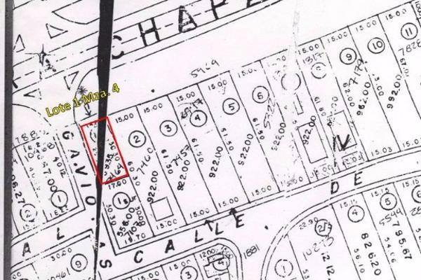 Foto de terreno habitacional en venta en gaviota y carretera lote 1 - manzana 4 , chapala haciendas, chapala, jalisco, 6152023 No. 01