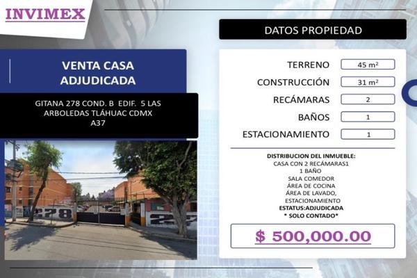 Foto de casa en venta en gitana 278, las arboledas, tláhuac, df / cdmx, 0 No. 03