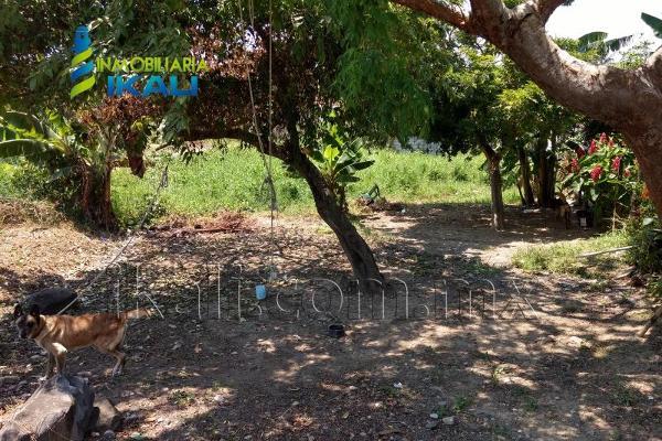 Foto de terreno habitacional en venta en gladiola , villa rosita, tuxpan, veracruz de ignacio de la llave, 5628076 No. 01