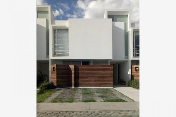 Foto de casa en venta en gpe. victoria 11, residencial barrio real, san andrés cholula, puebla, 8871680 No. 01