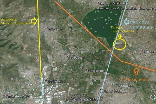 Foto de terreno habitacional en venta en  , granja la laguna, nextlalpan, méxico, 0 No. 08