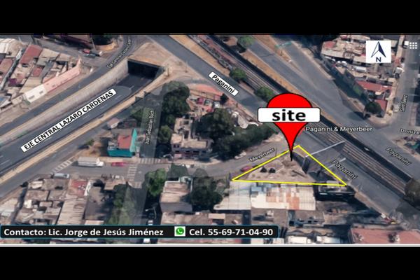 Foto de terreno habitacional en venta en  , guadalupe insurgentes, gustavo a. madero, df / cdmx, 18881600 No. 01