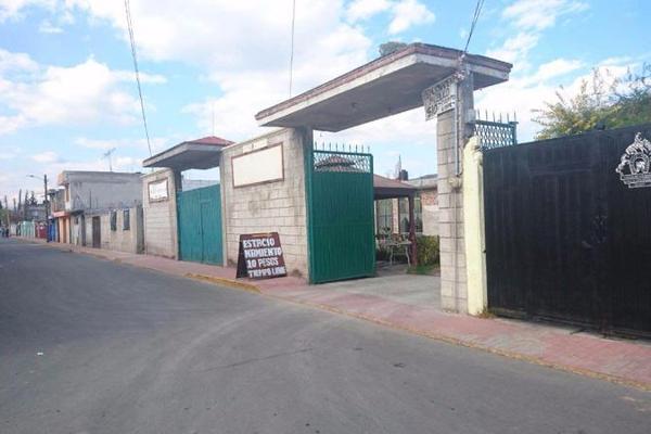Foto de terreno habitacional en venta en  , guadalupe victoria, otzolotepec, méxico, 7913495 No. 01