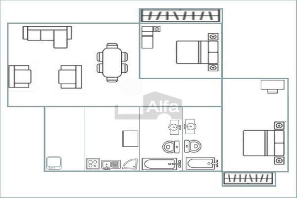 Foto de departamento en renta en gustavo baz , barrientos, tlalnepantla de baz, méxico, 18557663 No. 18