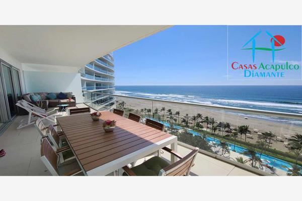 Foto de departamento en venta en h 5, avenida costera de las palmas 5, playa diamante, acapulco de juárez, guerrero, 18748702 No. 02