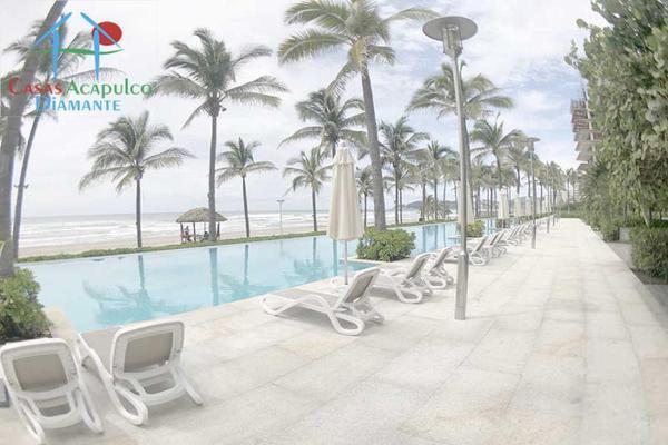 Foto de departamento en venta en h 5, avenida costera de las palmas península loft, playa diamante, acapulco de juárez, guerrero, 17688446 No. 17