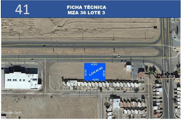 Foto de terreno habitacional en venta en  , hacienda de los portales 3a sección, mexicali, baja california, 12813661 No. 01