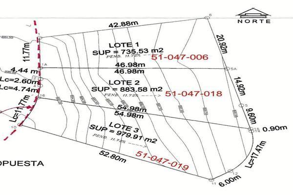 Foto de terreno habitacional en venta en  , hacienda los encinos, monterrey, nuevo león, 5655613 No. 02
