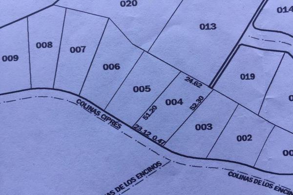 Foto de terreno habitacional en venta en  , hacienda los encinos, monterrey, nuevo león, 7955098 No. 07
