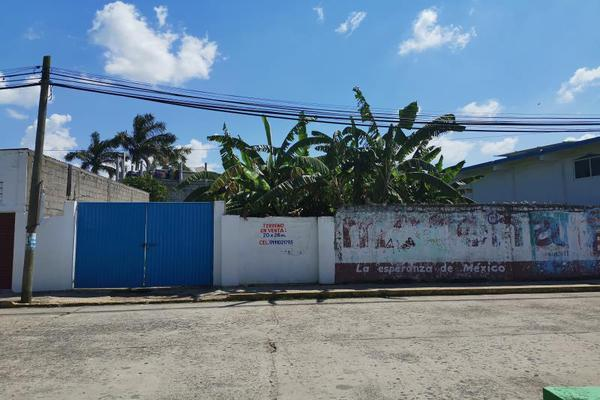 Foto de terreno habitacional en venta en hidalgo 22, cunduacan centro, cunduacán, tabasco, 5390706 No. 01