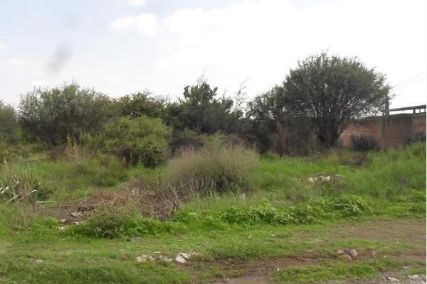 Foto de terreno habitacional en venta en  , huertas el carmen, corregidora, querétaro, 6155314 No. 01