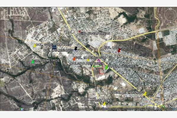 Foto de terreno habitacional en venta en humberto moreira y guadalupe sanchez galvan , ejido piedras negras, piedras negras, coahuila de zaragoza, 3565355 No. 09