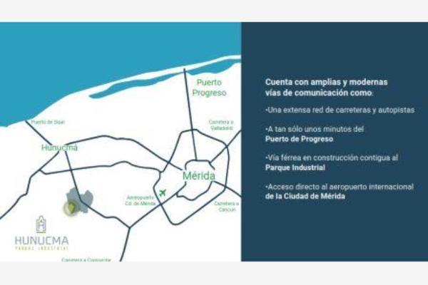 Foto de terreno industrial en venta en hunucma parque industrial, hunucmá, hunucmá, yucatán, 5931594 No. 05