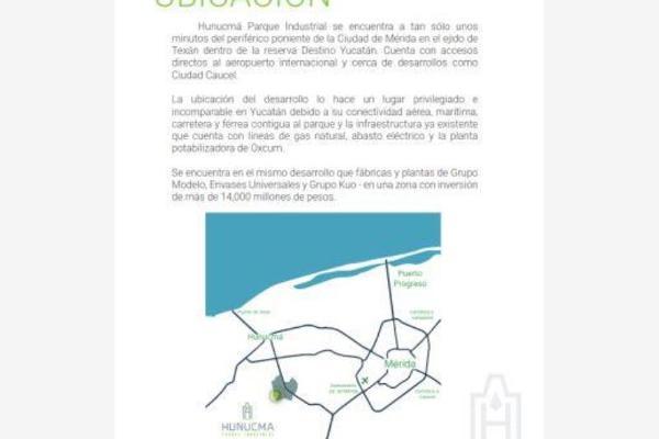 Foto de terreno industrial en venta en hunucma parque industrial, hunucmá, hunucmá, yucatán, 5931594 No. 06
