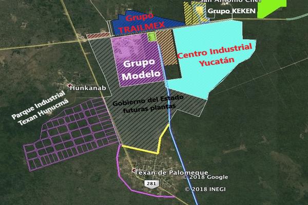 Foto de terreno industrial en venta en hunucmá-umán , texan palomeque, hunucmá, yucatán, 7264471 No. 03
