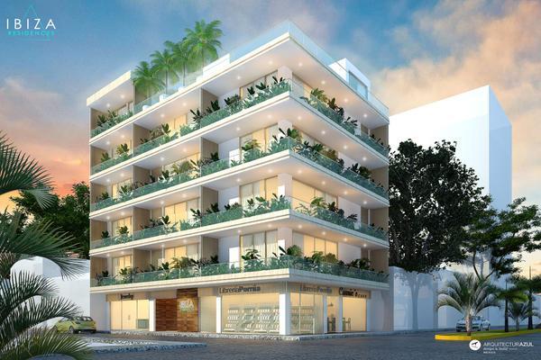 Foto de departamento en venta en ibiza residences, avenida 10 , luis donaldo colosio, solidaridad, quintana roo, 5671019 No. 01