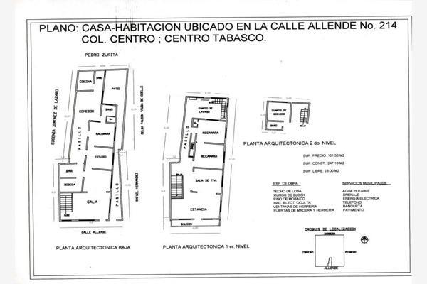 Foto de edificio en venta en ignacio allende 214, villahermosa centro, centro, tabasco, 5320640 No. 01