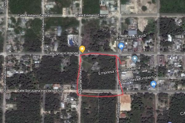 Foto de terreno habitacional en venta en ignacio allende , alfredo v bonfil, benito juárez, quintana roo, 5446661 No. 02