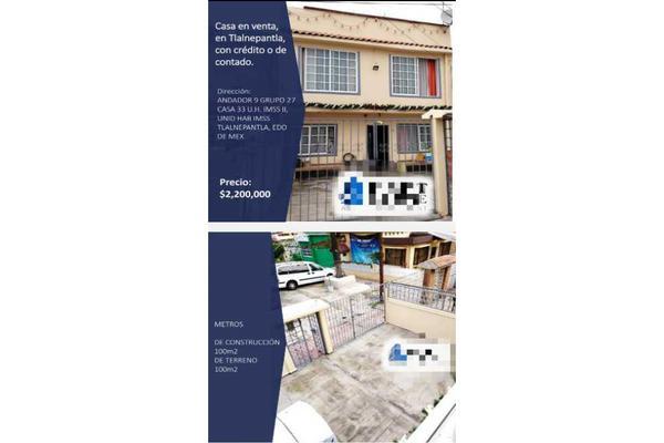 Foto de casa en venta en  , imss tlalnepantla, tlalnepantla de baz, méxico, 20245532 No. 03