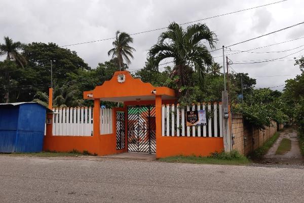Foto de casa en venta en  , independencia 2a secc, comalcalco, tabasco, 10782845 No. 01