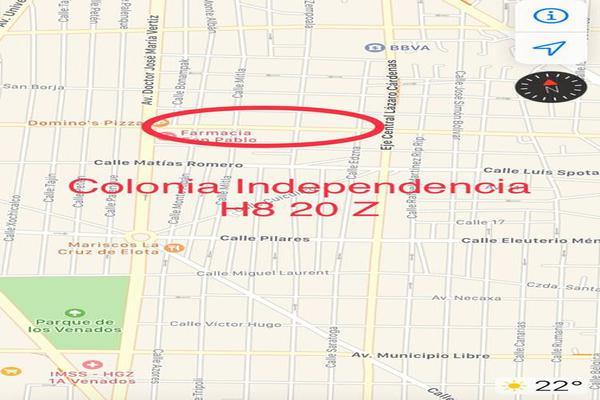 Foto de terreno habitacional en venta en independencia , independencia, benito juárez, df / cdmx, 0 No. 02