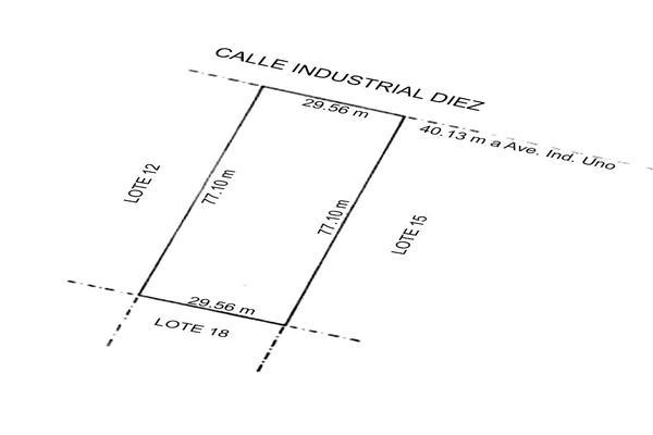 Foto de terreno habitacional en venta en industrial 10 lote 14 , robinson, chihuahua, chihuahua, 20136204 No. 03