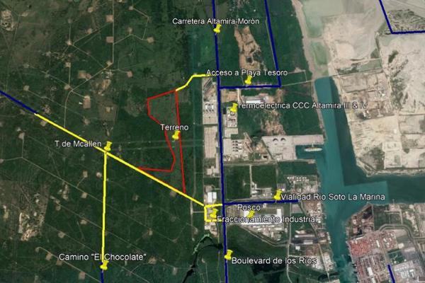 Foto de terreno habitacional en renta en  , industrial guerrero, altamira, tamaulipas, 11818056 No. 01