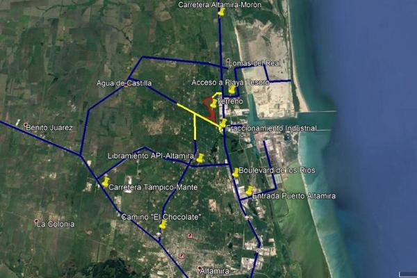 Foto de terreno habitacional en renta en  , industrial guerrero, altamira, tamaulipas, 11818056 No. 02