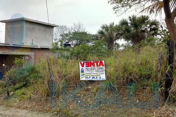 Foto de terreno habitacional en venta en  , infonavit ctm, tuxpan, veracruz de ignacio de la llave, 5682803 No. 01