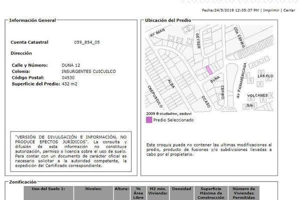 Foto de departamento en venta en  , insurgentes cuicuilco, coyoacán, df / cdmx, 12262966 No. 04