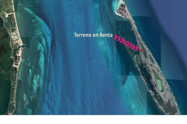 Foto de terreno habitacional en renta en  , isla mujeres centro, isla mujeres, quintana roo, 6437210 No. 02