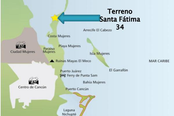 Foto de terreno habitacional en venta en  , isla mujeres, isla mujeres, quintana roo, 3088167 No. 03