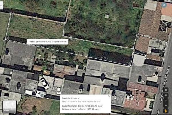 Foto de terreno habitacional en venta en iturbide , san jorge, zinacantepec, méxico, 13626826 No. 01