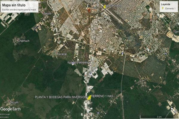 Foto de terreno habitacional en venta en  , itzincab, umán, yucatán, 14038748 No. 03