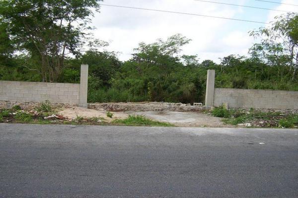 Foto de terreno habitacional en venta en  , izamal, izamal, yucatán, 14520633 No. 05