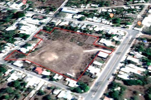Foto de terreno habitacional en venta en  , izamal, izamal, yucatán, 19776857 No. 01