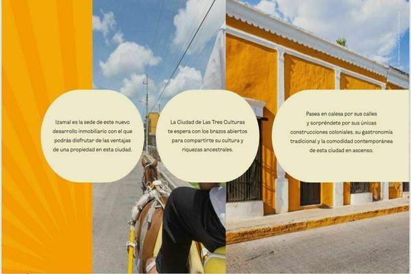Foto de terreno habitacional en venta en  , izamal, izamal, yucatán, 0 No. 08