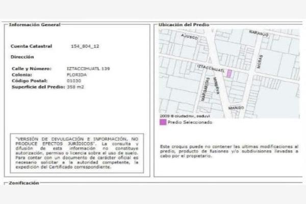Foto de casa en venta en iztaccihuatl 139, florida, álvaro obregón, df / cdmx, 0 No. 05