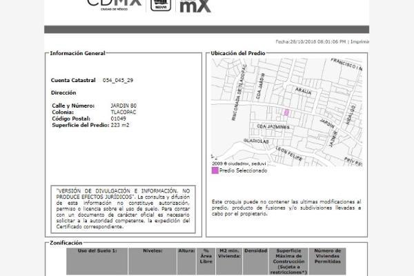 Foto de casa en venta en jardín 00, tlacopac, álvaro obregón, df / cdmx, 6149830 No. 04
