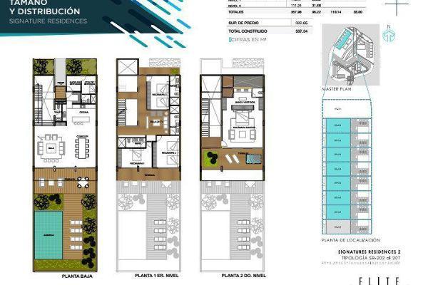 Foto de casa en venta en  , jardines cancún, benito juárez, quintana roo, 7926805 No. 02