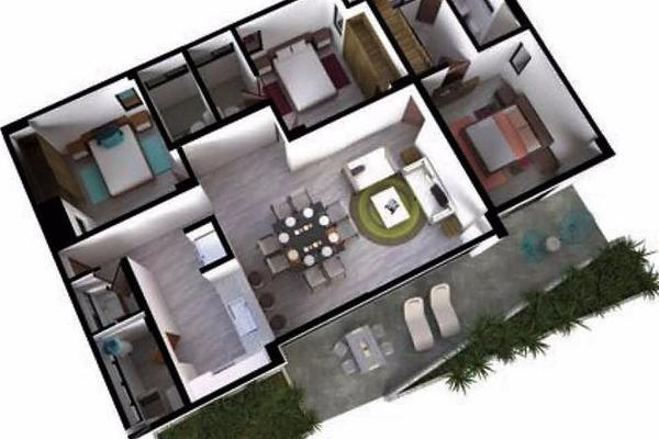 Foto de departamento en venta en  , jardines cancún, benito juárez, quintana roo, 7926875 No. 04