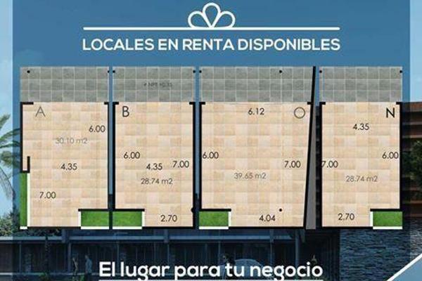 Foto de local en renta en  , jardines cancún, benito juárez, quintana roo, 8424202 No. 02