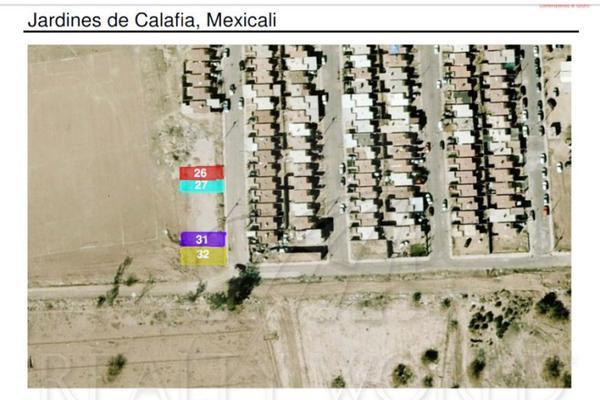 Foto de terreno habitacional en venta en  , jardines de calafia, mexicali, baja california, 16960906 No. 02