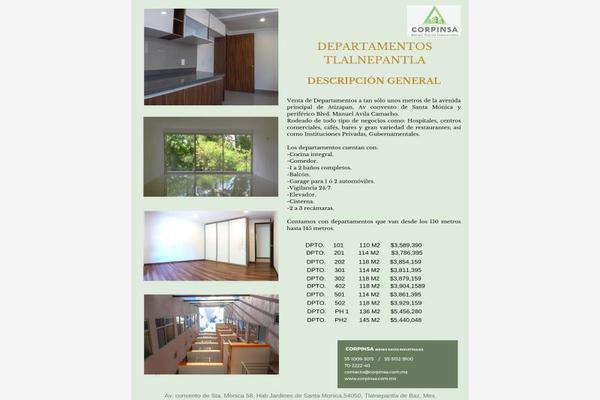 Foto de departamento en venta en  , jardines de santa mónica, tlalnepantla de baz, méxico, 8289431 No. 09