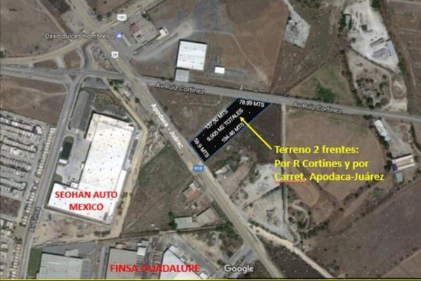 Foto de terreno habitacional en renta en  , jardines guadalupe, guadalupe, nuevo león, 21196415 No. 02