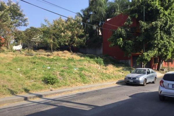 Foto de terreno habitacional en venta en  , josé g parres, jiutepec, morelos, 7962615 No. 01