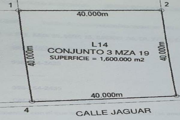 Foto de terreno habitacional en venta en  , josé maría morelos, josé maría morelos, quintana roo, 16277477 No. 07