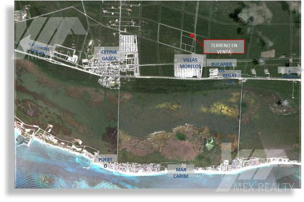 Foto de terreno habitacional en venta en  , josé maría morelos, josé maría morelos, quintana roo, 18485214 No. 01